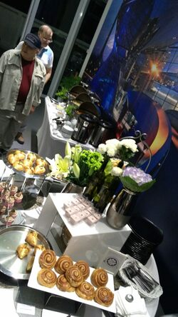 breakfast session buffet catering services for auto bavaria showroom kuala lumpur (kl) jalan tun razak 30th sept 2016 by canape catering malaysia