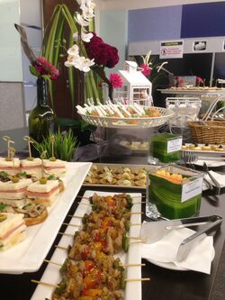 canapa catering malaysia roche malaysia town hall at pinnacle sunway 27th oct 2016